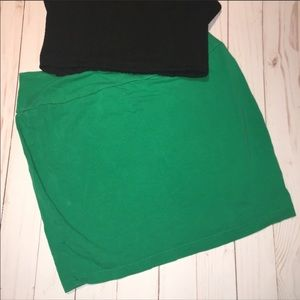 Mini Skirt Green Old Navy